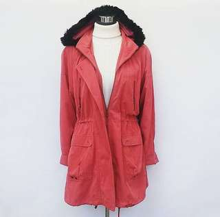 Candy Red Parka