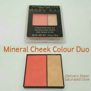 Mary Kay Mineral Cheek Colour Duo