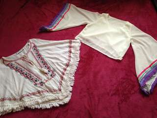 2 Boho Tops, perfect for summer