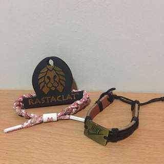 Rastaclat Limited Edition Floral with Nike Bracelet