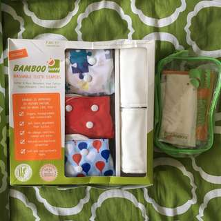 DAPPY Washable cloth diapers