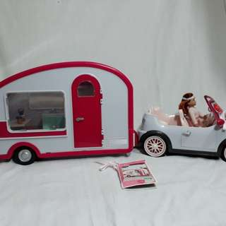 Lori Roller Glamper and Convertible Car not for barbie