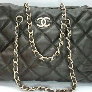 SUPERSALE!!! Chanel Bubble Quilted Bowler Bag