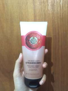 The Body Shop Strawberry Sorbet