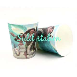 10pcs MOANA BIRTHDAY PARTY PAPER CUP