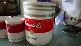 金寶湯儲存器皿及杯—套