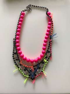 Joomi Lim Colourful Bead And Spikes Necklace