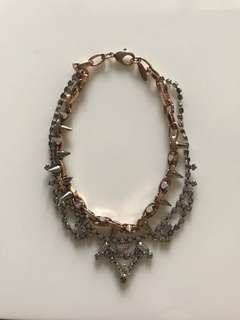 Joomi Lim Gold and Silver Chained Necklace