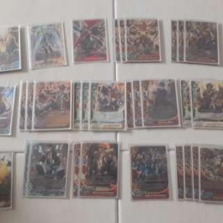Buddyfight full built TE deck