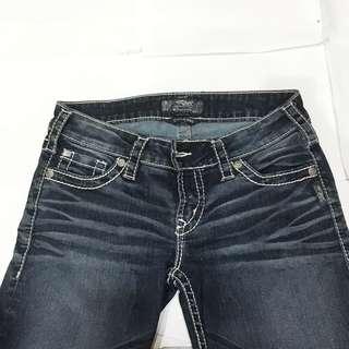 Authentic Designer Silver Jeans (Canada Brand)