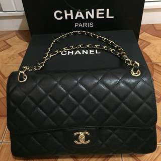 Chanel Medium Flap in Caviar