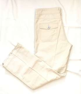 Charity Sale! Uright Women Hiking Camping Fishing Pants Size 27 100% Cotton Beige Colour