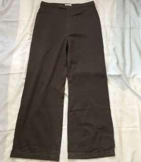 Charity Sale! Women's Authentic Esprit Dress Work Pants Khaki Wide Leg Size 8 USA Bottoms