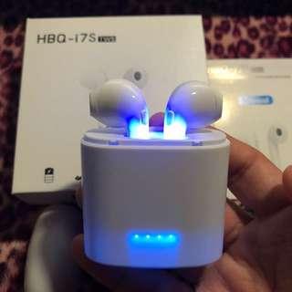 正品正貨HBQ i7S TWS 雙耳真無線藍芽耳機連充電盒 Wireless Bluetooth headphone V4.2 portable Mini headset with charger box