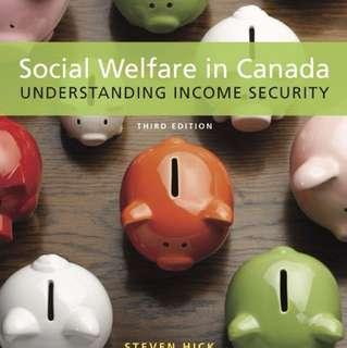 Social Welfare in Canada ($20 OFF)