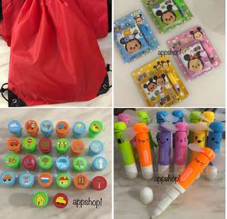 Assorted goodies bag gift, goody bag for children party