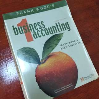 Business Accounting 1 Frankwood