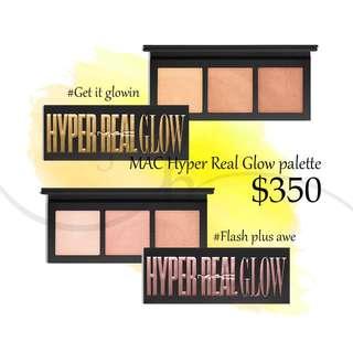 Mac Highlight hyper real glow palette