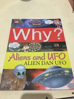 Why? Alien dan ufo science comic