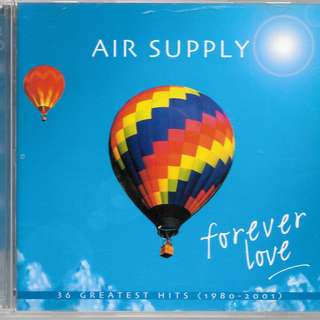 MY PRELOVEDCD - AIR SUPPLY 2 CDS - FOREVERLOVE HITS OF 1980-2001 / FREE DELIVERY (F9F)