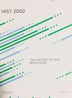 The History of Bad Behaviour