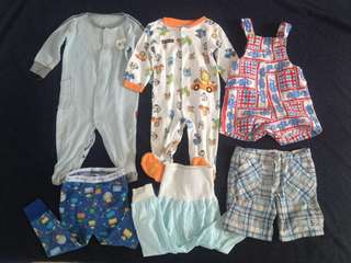 SET - 9/12mos Mix brand