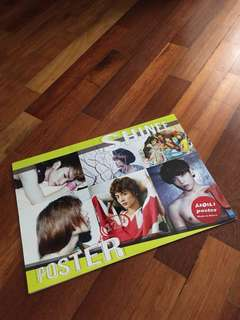 Shinee 12p posters (A5)