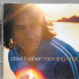 MY PRELOVED  CD - DAVID USHER - MORNING ORBIT / FREE DELIVERY (F9F)