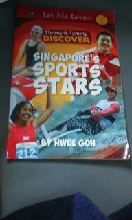 Singapore sports star by hwee goh