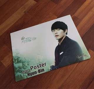 Hyun bin 12p posters (A5)