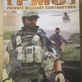"""Hottoys PMC 12"""" Action Figure"""