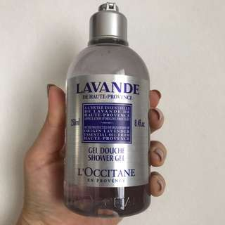 Brand New L'Occitane Lavender Body Wash Gel 250ml