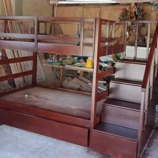 custom bunkbed w/ pullout