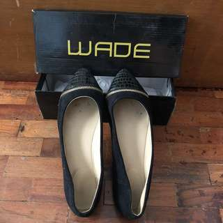 Wade black shoes