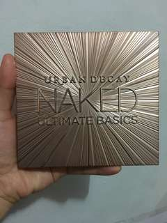 Urban Decay Naked Basic Eyeshadow Pallete (All Mate)