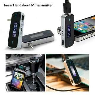 FREE POS Ready Stock Car Player MP3 Audio FM Transmitter Music Modulator Wireless Remote