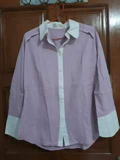 Kemeja Cotton Ink size M