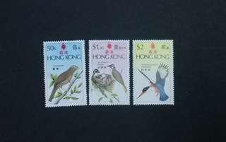 香港鳥類 郵票
