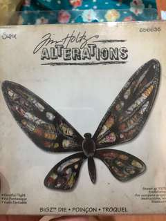 Tim Holtz Alterations- Butterfly