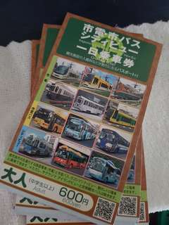 Kagoshima city view bus 1-day pass (1 ticket)