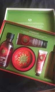 The Body Shop Strawberry Set