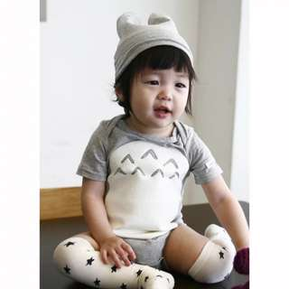 Totoro shirt -cotton, comes with totoro hat