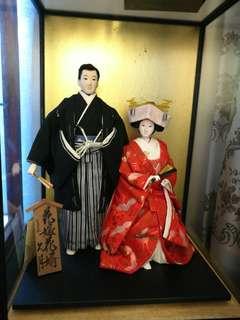 日本手做耒婦人形