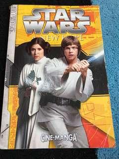 Star Wars a new hope cine-manga