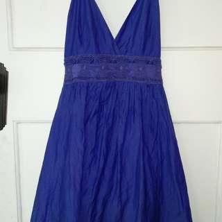 Wish blue dress