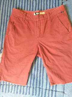 Mossimo red chino shorts - size 30