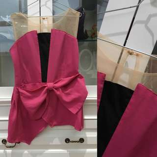 Tulle Bow Top