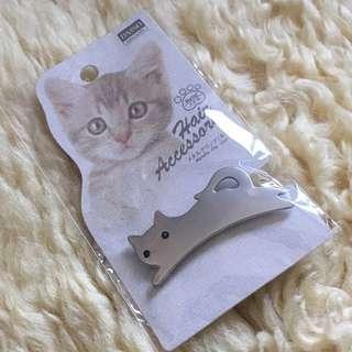 🚚 DAISO JAPAN 大創 貓咪造型髮夾