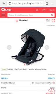 Britax second car seat