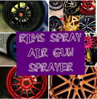 PROMO!!! Rim Spray caliper